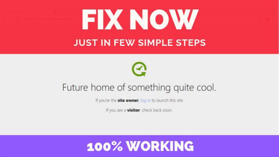 Fix Future Of Something Quite Cool